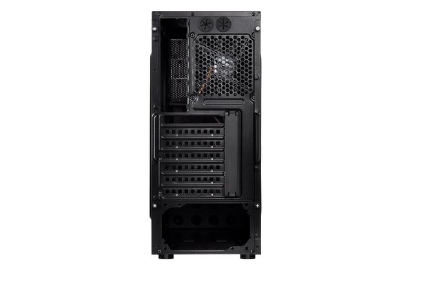 Imagen de GABINETE THERMALTAKE VERSA H23 BLACK MID TOWER FAN 120MM USB