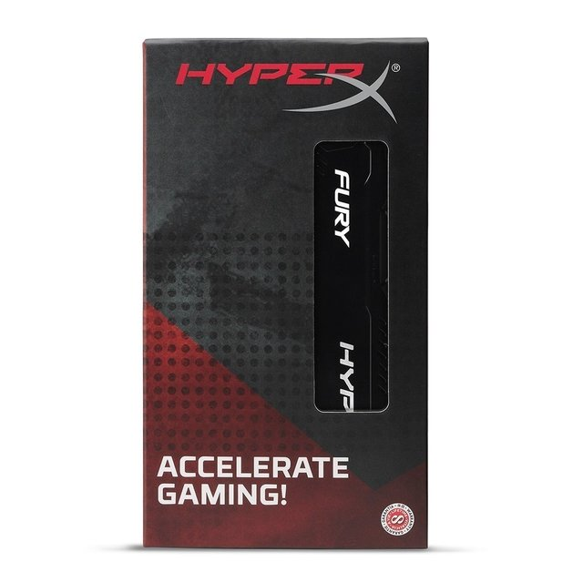 MEMORIA RAM KINGSTON HYPERX FURY DDR4 4GB 2666 MHZ GTIA
