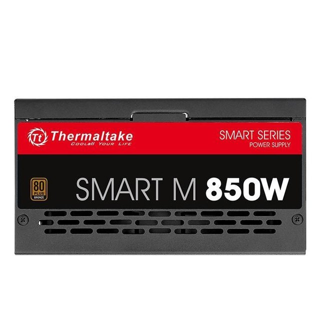FUENTE PC THERMALTAKE SMART M850W 80 PLUS BRONZE MODULAR 850 - Exxa Store