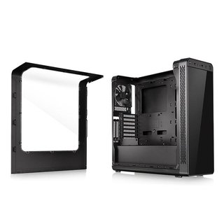 GABINETE THERMALTAKE VIEW 27 BLACK RIING 12 GREEN MID-TOWER - comprar online