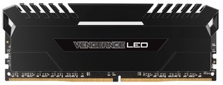 MEMORIA CORSAIR VENGEANCE LED DDR4 WHITE 16GB 2666 MHZ 2X8 en internet