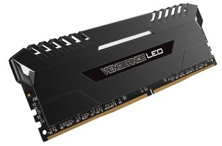MEMORIA CORSAIR VENGEANCE LED DDR4 WHITE 16GB 2666 MHZ 2X8
