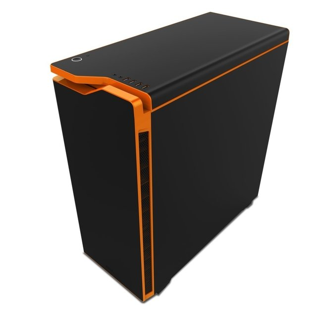 GABINETE NZXT H440 BLACK ORANGE GAMER FAN X4 GARANTIA 24M