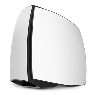 GABINETE NZXT MANTA MINI ITX MATTE WHITE BLACK FAN X3 GAMER