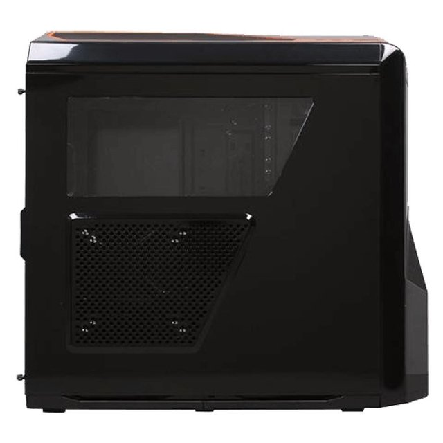 GABINETE NZXT PHANTOM 410 BLACK AND ORANGE FAN X3 GAMER GTIA en internet