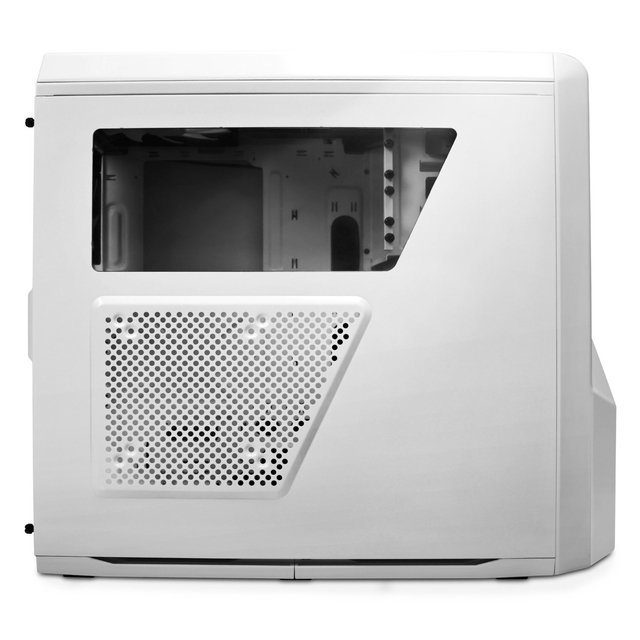 GABINETE NZXT PHANTOM 410 WHITE AND BLUE FAN X3 GAMER GTIA - Exxa Store