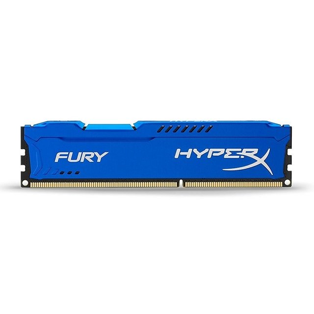 MEMORIA RAM KINGSTON HYPERX FURY BLUE DDR3 4GB 1600 MHZ GTIA - Exxa Store
