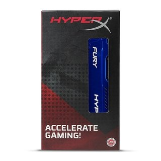 MEMORIA RAM KINGSTON HYPERX FURY BLUE DDR3 4GB 1600 MHZ GTIA