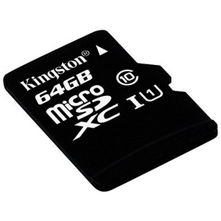 MEMORIA SD KINGSTON MICRO SD CLASE 10 64GB ORIGINAL GARANTIA - Exxa Store