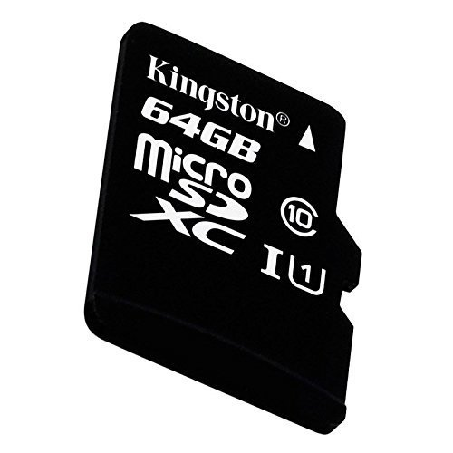 MEMORIA SD KINGSTON MICRO SD CLASE 10 64GB ORIGINAL GARANTIA en internet