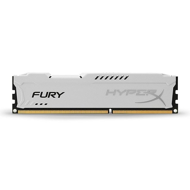 MEMORIA RAM KINGSTON HYPERX FURY WHITE DDR3 4GB 1600 MHZ - Exxa Store