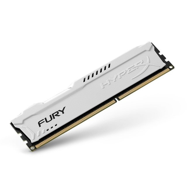 MEMORIA RAM KINGSTON HYPERX FURY WHITE DDR3 4GB 1600 MHZ - comprar online