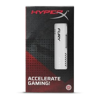 MEMORIA RAM KINGSTON HYPERX FURY WHITE DDR3 4GB 1600 MHZ