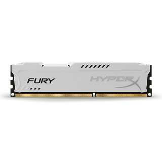 MEMORIA RAM KINGSTON HYPERX FURY WHITE DDR3 4GB 1600 MHZ - tienda online