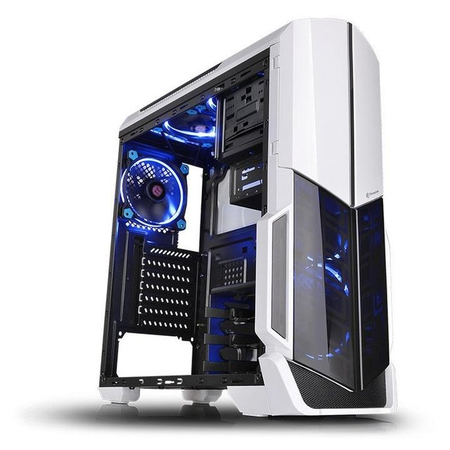 GABINETE THERMALTAKE VERSA N21 WHITE MID TOWER GAMER GTIA 36