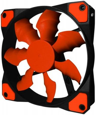 FAN COOLER RAIDMAX COBRA FAN RX-120SR RED GAMER GTIA 24M en internet