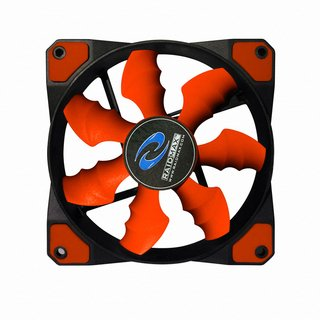 FAN COOLER RAIDMAX COBRA FAN RX-120SR RED GAMER GTIA 24M - tienda online