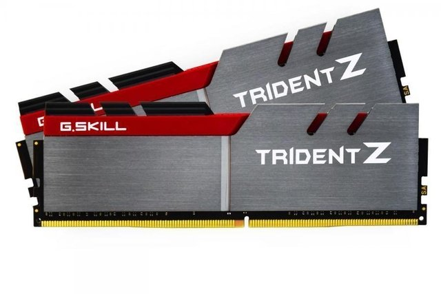 MEMORIA GSKILL DDR4 16GB 3200Mhz TRIDENTZ 2x8GB BLACK RED