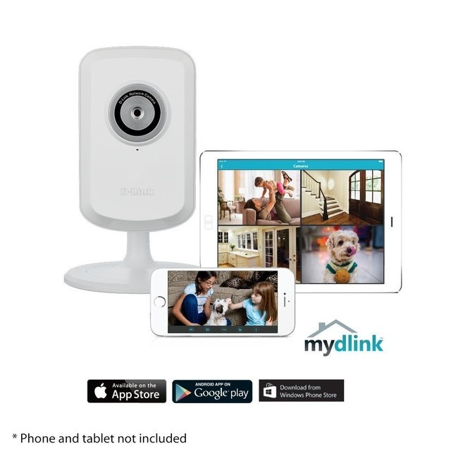 CAMARA IP D-LINK WIRELESS DCS-930L WIRELESS 11N CUBO GTIA 12