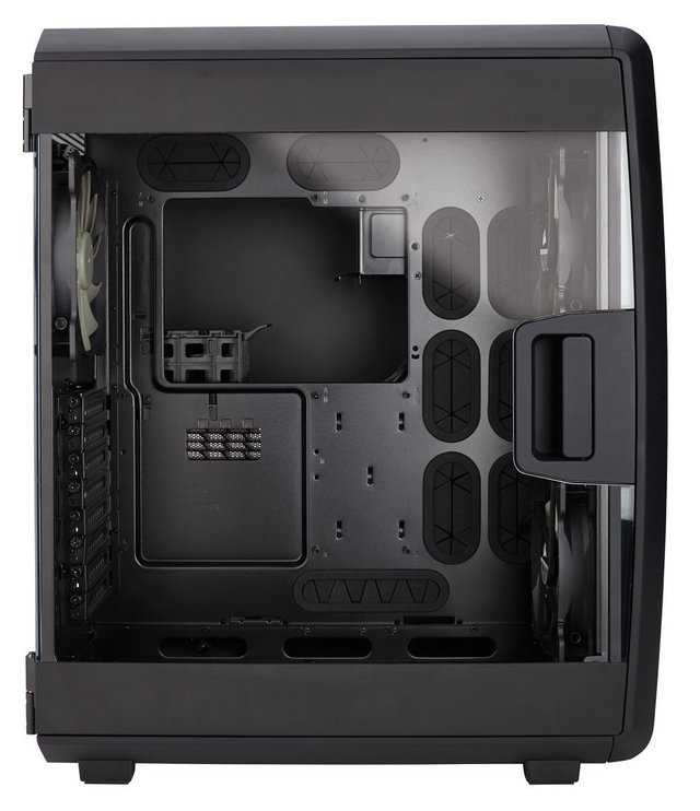 GABINETE CORSAIR CARBIDE AIR 740 AIRFLOW ATX CUBE FAN X3 en internet