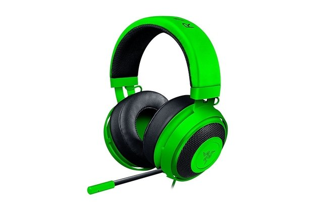 Imagen de AURICULARES RAZER KRAKEN PRO V2 GREEN PC MAC PS4 XBOX ONE