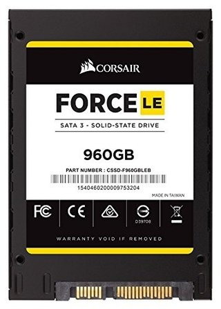 DISCO SOLIDO SSD 960GB CORSAIR FORCE LE GAMER - Exxa Store