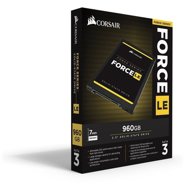 DISCO SOLIDO SSD 960GB CORSAIR FORCE LE GAMER - tienda online