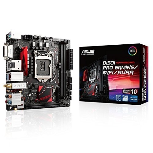 MOTHERBOARD ASUS B150I PRO GAMING/WIFI/AURA 1151