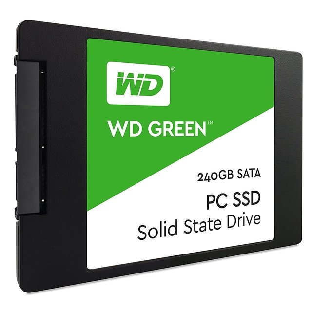 DISCO SOLIDO SSD 240GB WD GREEN SATA III INTERNAL GTIA 12M - comprar online