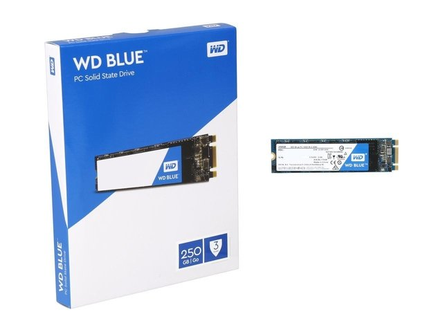 DISCO SOLIDO SSD 250GB M.2 WD BLUE INTERNAL SATA-6GB/S GTIA - comprar online
