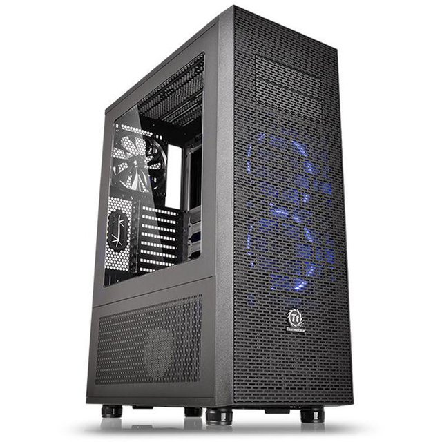 Imagen de GABINETE THERMALTAKE CORE X71 BLACK FULL TOWER GARANTIA 36M