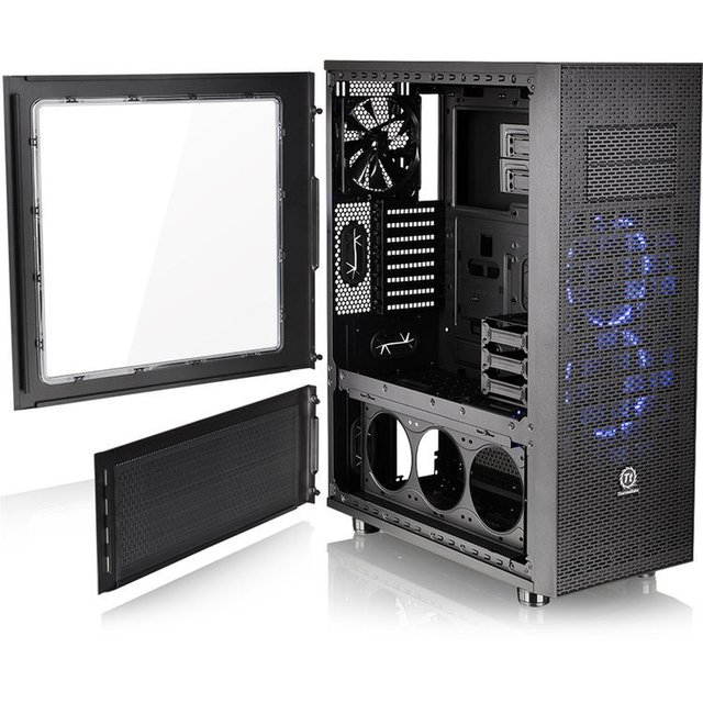 GABINETE THERMALTAKE CORE X71 BLACK FULL TOWER GARANTIA 36M en internet