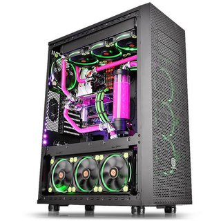 GABINETE THERMALTAKE CORE X71 BLACK FULL TOWER GARANTIA 36M
