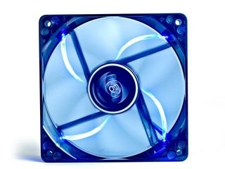 FAN COOLER DEEPCOOL WIND BLADE 120 BLUE LED 120X120X25 65CFM - Exxa Store