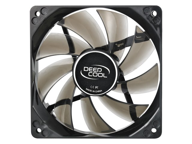 Imagen de FAN COOLER DEEPCOOL WIND BLADE 120 BLUE LED 120X120X25 65CFM