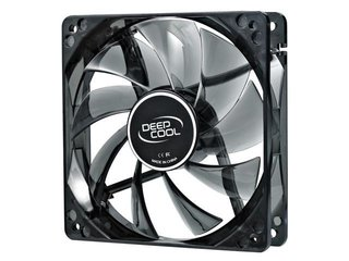 FAN COOLER DEEPCOOL WIND BLADE 120 BLUE LED 120X120X25 65CFM - comprar online