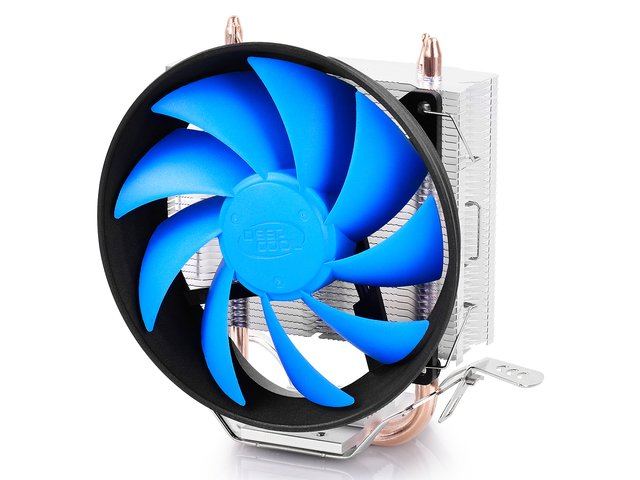 Imagen de CPU COOLER DEEPCOOL CPU GAMMAXX 200T 54CFM FAN 120MM GTIA 12