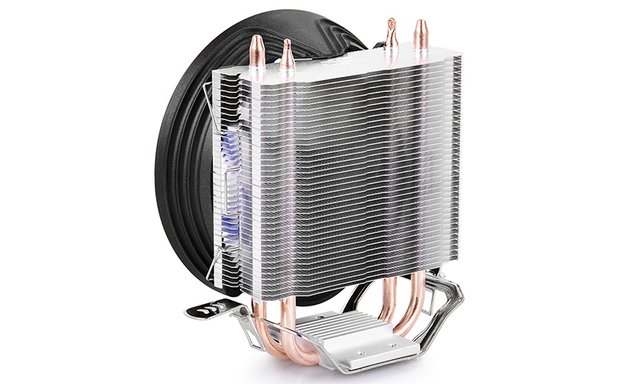 CPU COOLER DEEPCOOL CPU GAMMAXX 200T 54CFM FAN 120MM GTIA 12 en internet