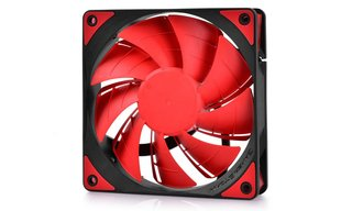 FAN COOLER DEEPCOOL GS TF120 RED LED 120X120X26 76.5CFM GTIA - tienda online