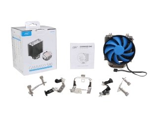 CPU COOLER DEEPCOOL CPU GAMMAXX S40 54CFM FAN 120MM GTIA 12