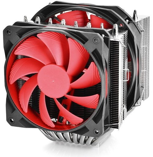 CPU COOLER DEEPCOOL CPU GS ASSASSIN II 70CFM FAN 140 GTIA 12 - tienda online