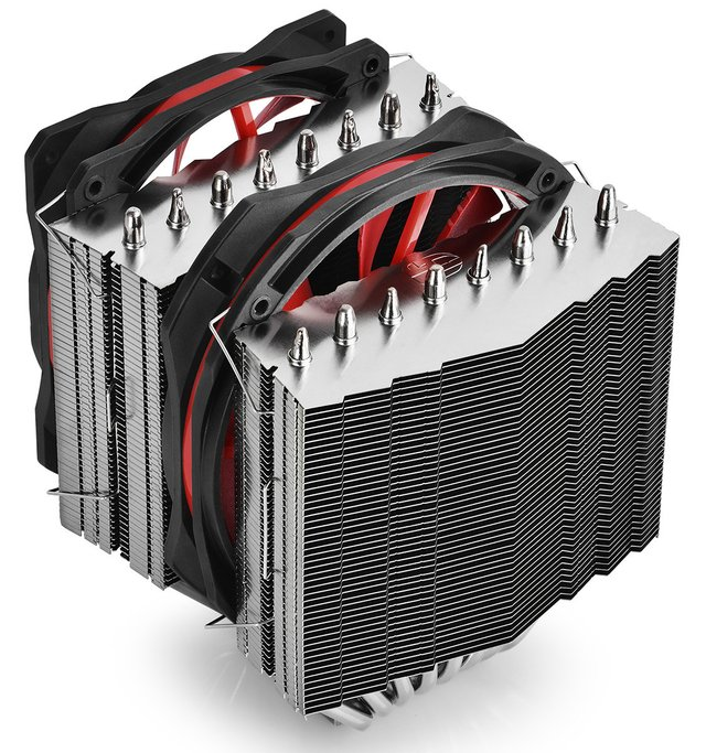 CPU COOLER DEEPCOOL CPU GS ASSASSIN II 70CFM FAN 140 GTIA 12