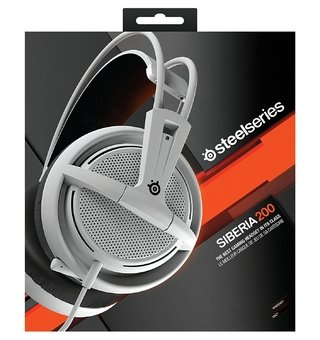 AURICULARES STEELSERIES SIBERIA 200 WHITE GAMER PS4 PC