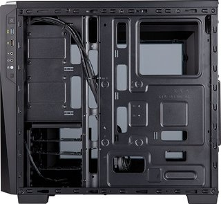 GABINETE CORSAIR CARBIDE SPEC 04 BLACK/GRAY - comprar online