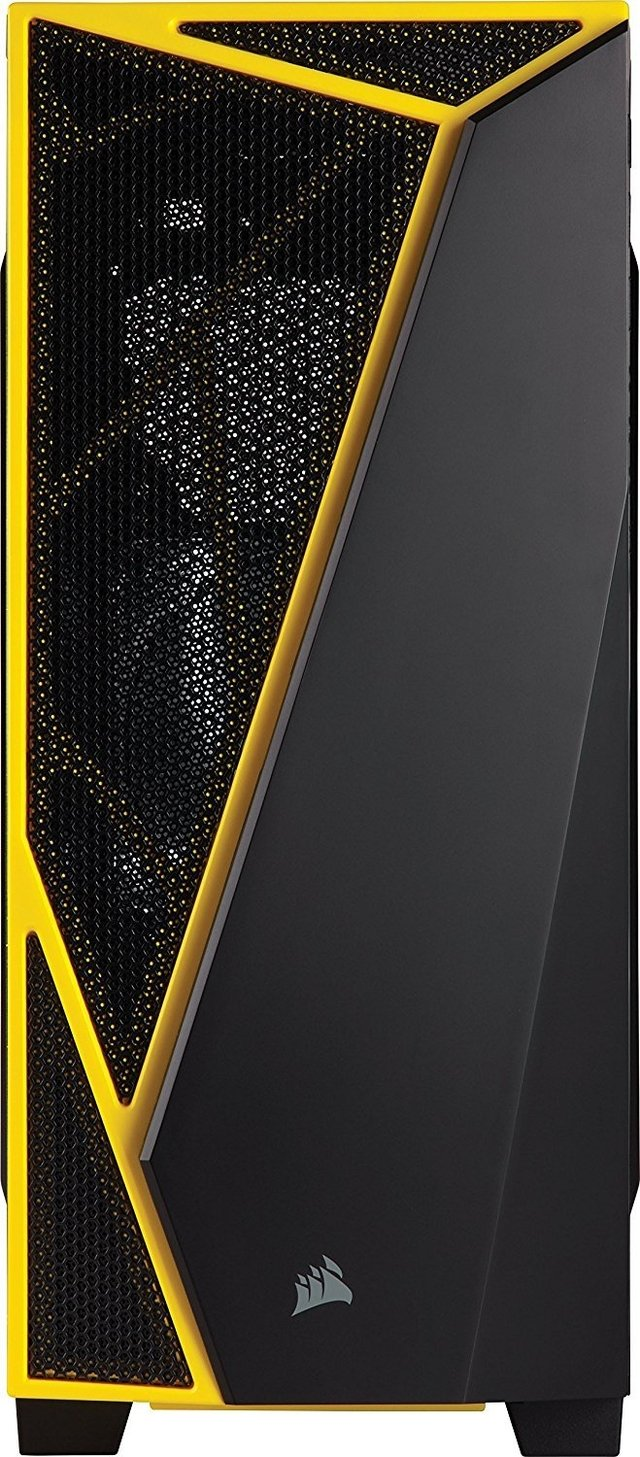 GABINETE CORSAIR CARBIDE SPEC 04 BLACK/YELLOW