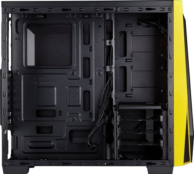 GABINETE CORSAIR CARBIDE SPEC 04 BLACK/YELLOW - tienda online