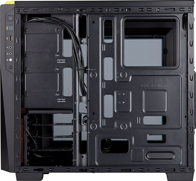 GABINETE CORSAIR CARBIDE SPEC 04 BLACK/YELLOW - Exxa Store