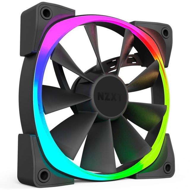 FAN COOLER NZXT AER RGB 120MM B1 22 DBA 1500 RPM 52.4 CFM - comprar online