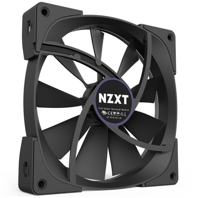 FAN COOLER NZXT AER RGB 120MM B1 22 DBA 1500 RPM 52.4 CFM - tienda online
