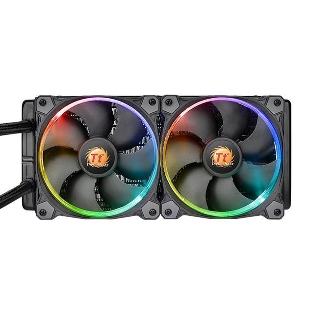 WATER COOLING THERMAL WATER 3.0 RIING RGB 240 GARANTIA 12M - comprar online